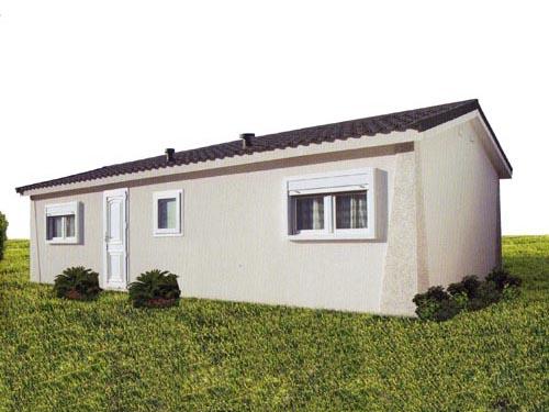 Casa modular eco 30 con contenedores mar timos - Casas prefabricadas contenedores ...